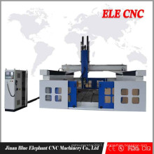 3m * 5m z axis cnc router, cnc 4 axis kits, wood design router with CE certificate